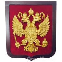 Герб России (золочение)
