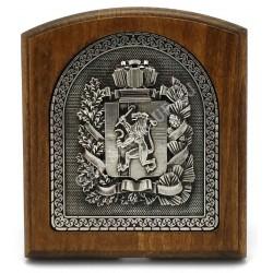 плакетка герб Красноярского края