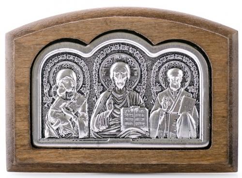 триптих с ликами святых (малый)