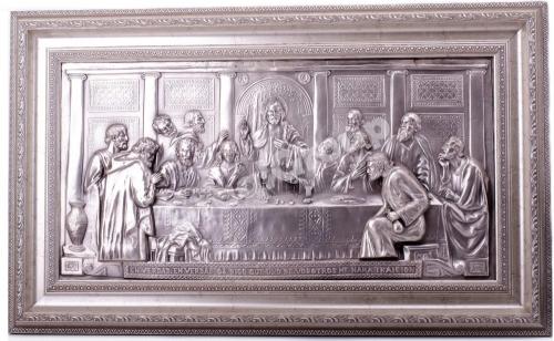 «Тайная Вечеря» с накладными апостолами