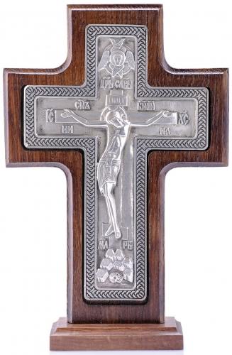 крест «Распятие «Царь Славы» на подставке