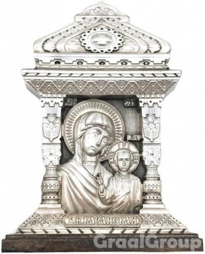 настольная икона Казанская