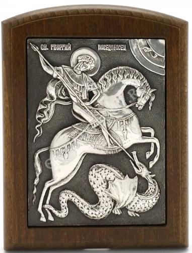 Георгий Победоносец (на коне)