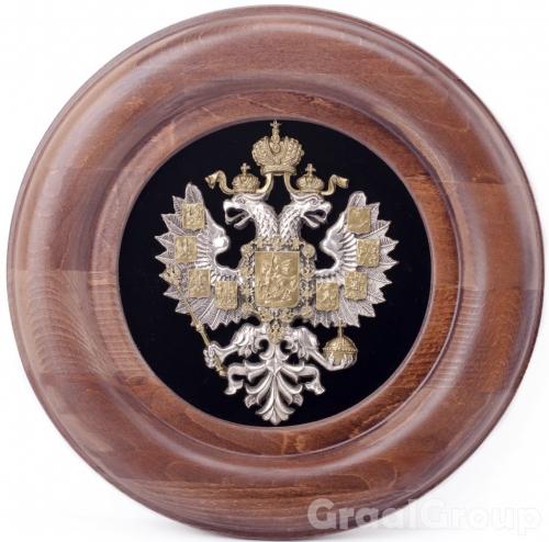 панно «Герб Российской Империи» кругл.