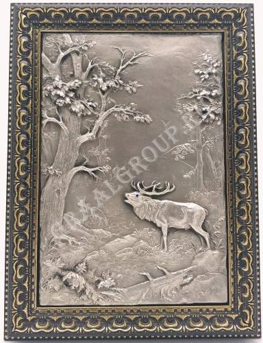 картина «Олень в лесу»