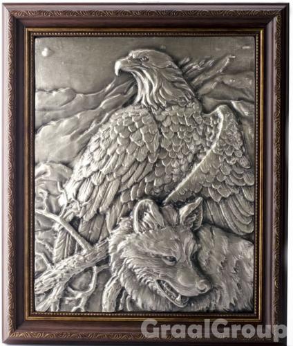 картина «Орел и волк»