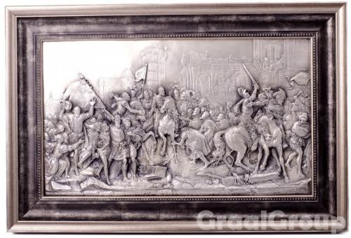 картина «Генрих IV     въезжает в Париж»